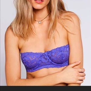 Free People Love Letters Underwire Bra NWT 32DD